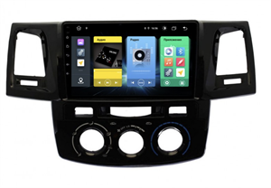 Штатная магнитола Vomi FX357R9-MTK-LTE для Toyota Hilux VII 2011-2015 (кондиционер) на Android 10.0