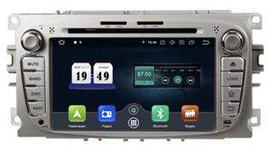 Штатная магнитола Roximo CarDroid RD-1702S Ford Focus 2, Mondeo (Android 10.0) серебро