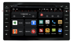 Redpower 61186 для Toyota Hilux VIII 2015-2020 с DVD на Android 10.0