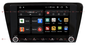 Redpower 61007 KNOB для Skoda Octavia III (A7) 2013-2018 на Android 10.0