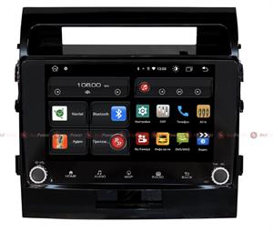 Redpower 61200 KNOB для Toyota Land Cruiser 200 2007-2015 (глянцевая рамка) на Android 10.0
