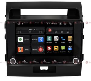 Redpower 61200 KNOB для Toyota Land Cruiser 200 2007-2015 (матовая рамка) на Android 10.0