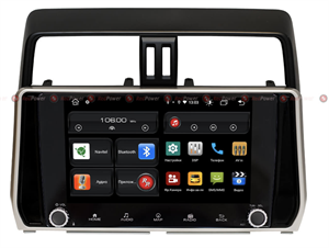Redpower 61365 KNOB для Toyota Land Cruiser Prado 150 2017-2020 на Android 10.0