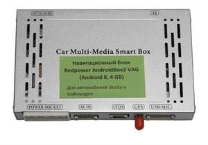 Навигационный блок Redpower на Android 9 для Volkswagen Touareg (2011-2018) с системой RNS850 (ANDRIODBOX3VT)