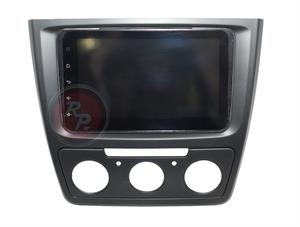 Переходная рамка для Skoda Yeti I 2009-2018 с кондиционером (RP25)