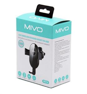 Автомобильный держатель с беспроводное зарядкой Mivo MZ14