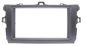 Переходная рамка для Toyota Corolla Axio, Fielder 2006 - 2013 2 Din антрацит RP-TYCV14XC