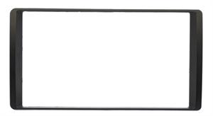 Переходная рамка для УАЗ Патриот 2017 + 2 Din, черная RP-UZPTB/Incar-N01