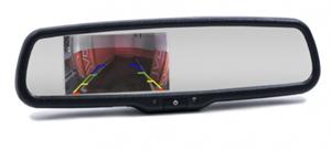Зеркало-Видеорегистратор двухканальный с камерой под плафон в комплекте PFMIR-418