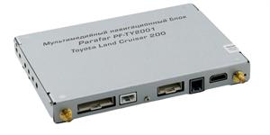 Мультимедийный навигационный блок Parafar для Toyota Land Cruiser 200 (2015+) (4+64Gb) на Android 8.1.0 (PF-TY2001)