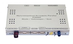 Мультимедийный навигационный блок Parafar PFB980 для VW / Skoda / Seat 2014+ для экранов 6.5 / 8 / 9.2
