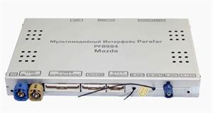 Мультимедийный навигационный блок Parafar для Mazda (2014+) (3+32ГБ) на Android 9.0 (PFB984)