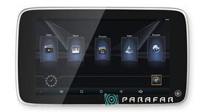 Монитор подвесной на подголовник Parafar Tech11 Android 6.0 экран 10,8 дюйма (1+8Гб)