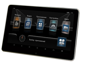 Монитор подвесной на подголовник Parafar Tech116NToyota Android 9.0 экран 11,6 дюйма, 2Гб+8Гб DDR4