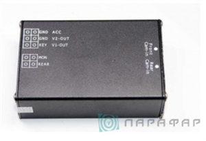 Переключатель камер 2х канальный с голосовым управлением PF-SW-2V