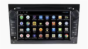 Parafar для Opel Antara / Astra / Zafira / Corsa 2004-2009 с DVD 4G/LTE black на Android 9.0 (PF019XHDDVD)