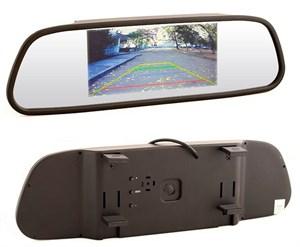 Зеркало с монитором для камеры заднего вида