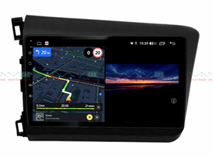 Штатная магнитола VAYCAR 10V3 для Honda Civic 2012-2015 на Android 10.0