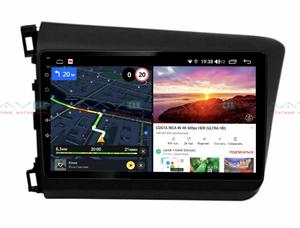 Штатная магнитола VAYCAR 10V6 для Honda Civic 2012-2015 на Android 10.0