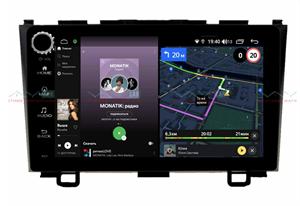 Штатная магнитола VAYCAR 09V4R для Honda CR-V III 2007-2012 на Android 10.0