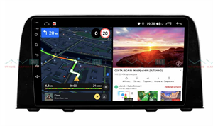 Штатная магнитола VAYCAR 09V6 для Honda CR-V 2017-2019 на Android 10.0