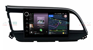 Штатная магнитола VAYCAR 09V4R для Hyundai Elantra VI (AD) 2016+ на Android 10.0