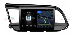 Штатная магнитола VAYCAR 09V4 для Hyundai Elantra 2018+ на Android 10.0