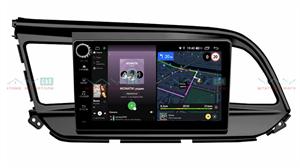 Штатная магнитола VAYCAR 09V4R для Hyundai Elantra 2018+ на Android 10.0