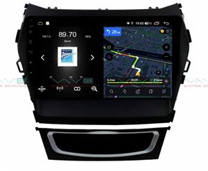 Штатная магнитола VAYCAR 09V4 для Hyundai Santa Fe III 2012-2019 на Android 10.0