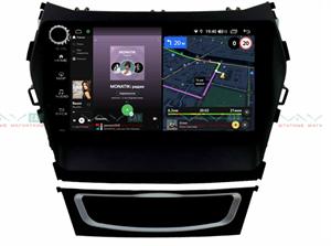 Штатная магнитола VAYCAR 09V4R для Hyundai Santa Fe III 2012-2019 на Android 10.0
