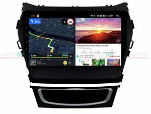 Штатная магнитола VAYCAR 09V6 для Hyundai Santa Fe III 2012-2019 на Android 10.0