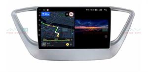 Штатная магнитола VAYCAR 09V3 для Hyundai Solaris II 2017-2020 на Android 10.0