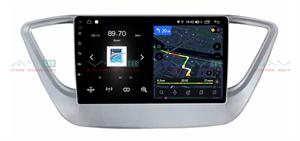 Штатная магнитола VAYCAR 09V4 для Hyundai Solaris II 2017-2020 на Android 10.0