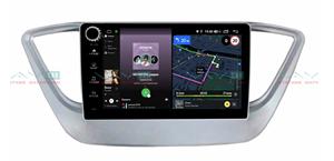 Штатная магнитола VAYCAR 09V4R для Hyundai Solaris II 2017-2020 на Android 10.0