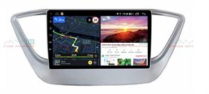 Штатная магнитола VAYCAR 09V6 для Hyundai Solaris II 2017-2020 на Android 10.0