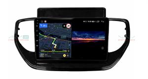 Штатная магнитола VAYCAR 09V3 для Hyundai Solaris 2020+ на Android 10.0