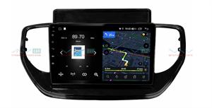Штатная магнитола VAYCAR 09V4 для Hyundai Solaris 2020+ на Android 10.0