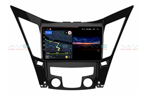 Штатная магнитола VAYCAR 09V3 для Hyundai Sonata VI (YF) 2009-2014 на Android 10.0