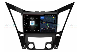 Штатная магнитола VAYCAR 09V4 для Hyundai Sonata VI (YF) 2009-2014 на Android 10.0