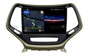 Штатная магнитола VAYCAR 10V3 для Jeep Cherokee IV (WK2) 2013-2017 на Android 10.0