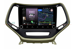 Штатная магнитола VAYCAR 10V4R для Jeep Cherokee IV (WK2) 2013-2017 на Android 10.0