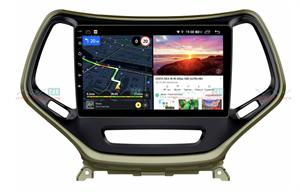 Штатная магнитола VAYCAR 10V6 для Jeep Cherokee IV (WK2) 2013-2017 на Android 10.0