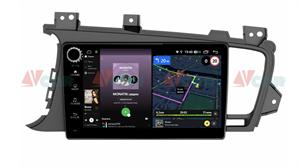 Штатная магнитола VAYCAR 09V4R для Kia Optima III 2010-2013 на Android 10.0