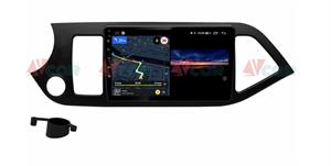 Штатная магнитола VAYCAR 09V3 для Kia Picanto II 2011-2016 на Android 10.0