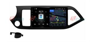 Штатная магнитола VAYCAR 09V4 для Kia Picanto II 2011-2016 на Android 10.0