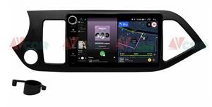 Штатная магнитола VAYCAR 09V4R для Kia Picanto II 2011-2016 на Android 10.0