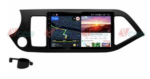 Штатная магнитола VAYCAR 09V6 для Kia Picanto II 2011-2016 на Android 10.0