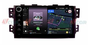 Штатная магнитола VAYCAR 09V4R для Kia Mohave I 2008-2018 на Android 10.0