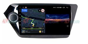 Штатная магнитола VAYCAR 09V3 для Kia Rio III 2011-2017 на Android 10.0