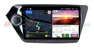 Штатная магнитола VAYCAR 09V6 для Kia Rio III 2011-2017 на Android 10.0